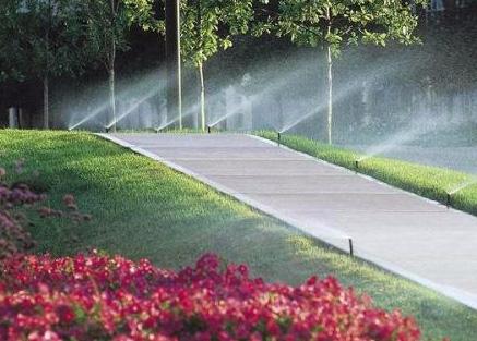 喷灌设备公园实例