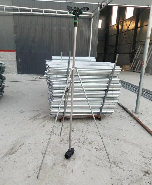 支架立杆组装