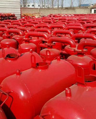 过滤器储水罐车间