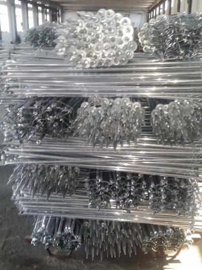 喷灌系统连接铝管