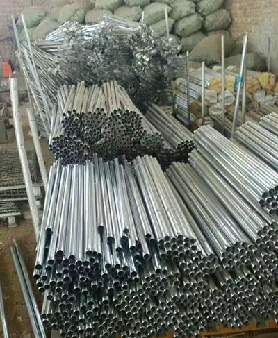喷灌系统用铝管存放
