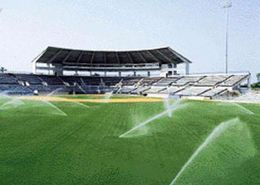 草坪喷灌系统应用现场